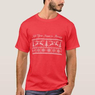 名前入りな休日 Tシャツ