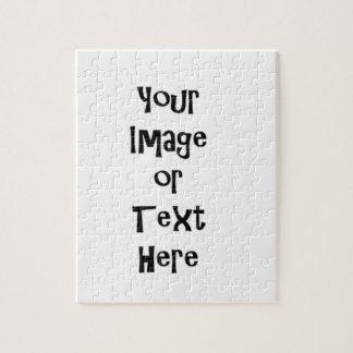名前入りな写真および文字とカスタマイズ ジグソーパズル