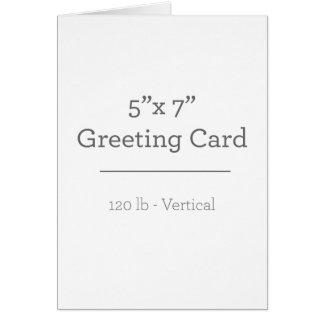 名前入りな写真の挨拶状 グリーティングカード