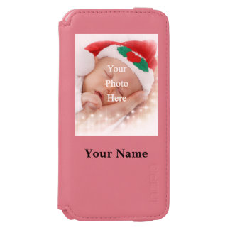 名前入りな写真テンプレート INCIPIO WATSON™ iPhone 5 財布型ケース