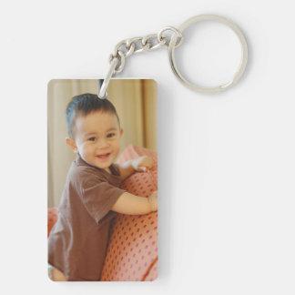 名前入りな写真Keychain キーホルダー