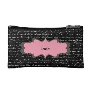 名前入りな化粧品の財布/筆箱 コスメティックバッグ