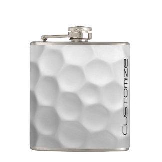 名前入りな名前のゴルフ・ボールのフラスコ フラスク