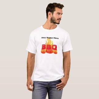 名前入りな名前またはイベントBBQ - Tシャツ