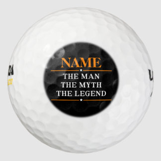 名前入りな名前人神話伝説 ゴルフボール