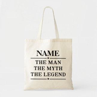 名前入りな名前人神話伝説 トートバッグ