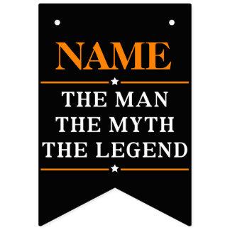 名前入りな名前人神話伝説 バンティングフラッグ