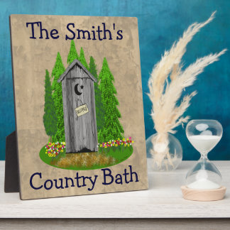 名前入りな国のBathの離れ家の浴室のプラク フォトプラーク