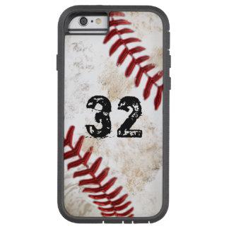 名前入りな堅いXTremeのiPhone 6の野球の場合 iPhone 6 タフ・エクストリームケース