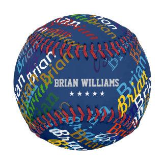 名前入りな多彩な名前を作成して下さい ベースボール