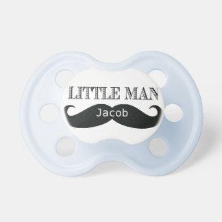 名前入りな小さい人の髭のカスタムな調停者 おしゃぶり