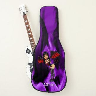 名前入りな小さい悪魔 ギターケース