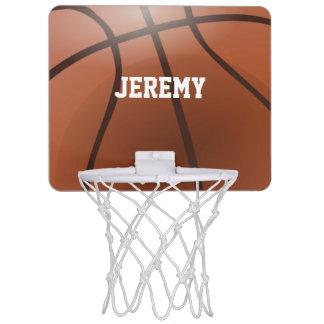 名前入りな小型バスケットボールたが ミニバスケットボールネット