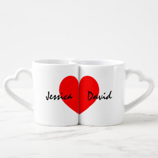 名前入りな恋人はカップルの名前のセットを襲います ペアカップ
