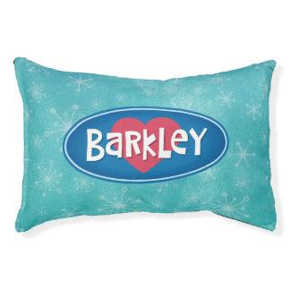 名前入りな愛Barkley スモールドッグベッド