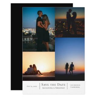 名前入りな日付4の写真の結婚を救って下さい カード