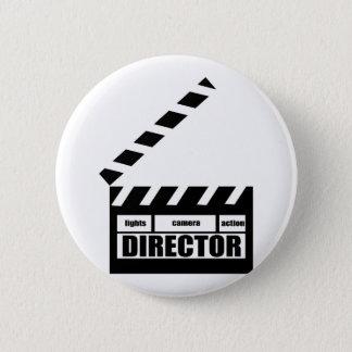 名前入りな映画監督下見板のギフト 5.7CM 丸型バッジ