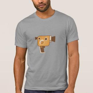 名前入りな映画製作者の映画用カメラ Tシャツ