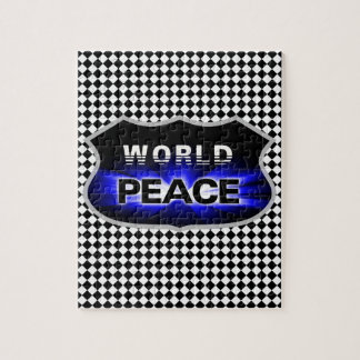 名前入りな普及の世界平和パズル ジグソーパズル