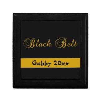名前入りな武道の黒帯のギフト用の箱 ギフトボックス