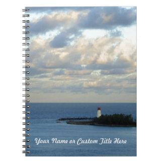 名前入りな海の眺めII ノートブック