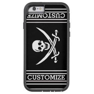 名前入りな海賊旗 TOUGH XTREME iPhone 6 ケース