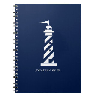 名前入りな灯台螺線形ノート ノートブック