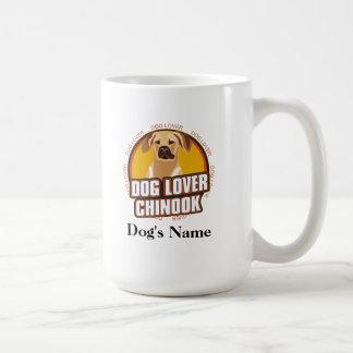 名前入りな犬の恋人のチヌック犬の品種 コーヒーマグカップ