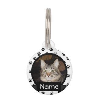 名前入りな猫I.D。 あなたのペットのためのラベル ペット用ネームプレート