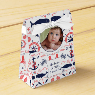 名前入りな男の子の航海のな誕生日 フェイバーボックス