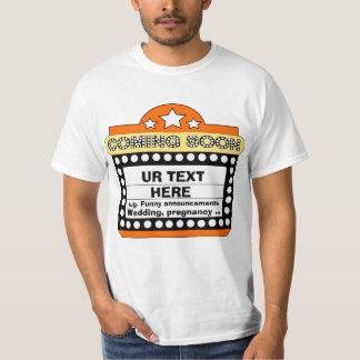 名前入りな発表 Tシャツ