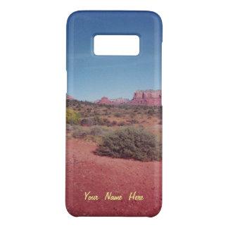 名前入りな砂漠ヴィスタ Case-Mate SAMSUNG GALAXY S8ケース