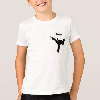 名前入りな空手のワイシャツ Tシャツ