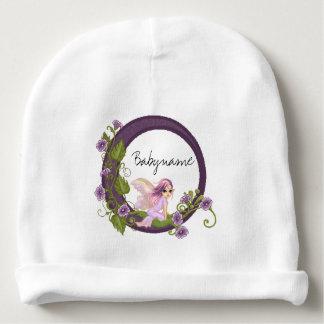 名前入りな紫色のペチュニアのFaery及び花 ベビービーニー