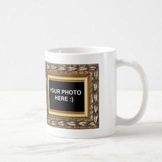 名前入りな組み立てられた家族写真 コーヒーマグカップ