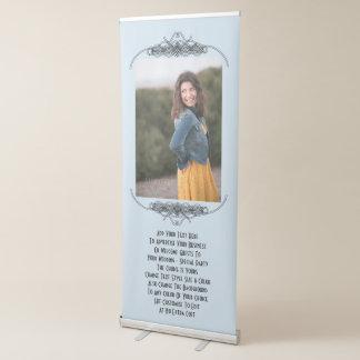 名前入りな結婚披露宴か広告の写真 伸縮バナー
