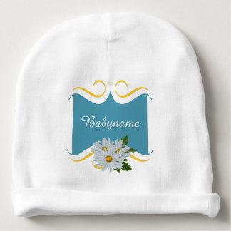 名前入りな色彩の鮮やかで白い菊 ベビービーニー