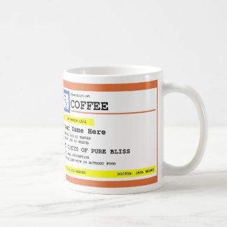 名前入りな規定のコーヒー コーヒーマグカップ