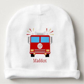 名前入りな赤い消防車| ベビービーニー