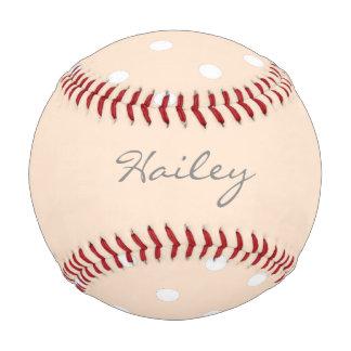 名前入りな軽いBisqueの水玉模様 ベースボール