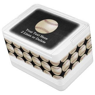 名前入りな野球のイグルーのクーラー クーラーボックス