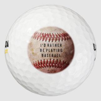 名前入りな野球ファンのカスタムなゴルフ・ボール ゴルフボール