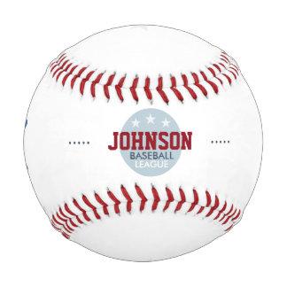 名前入りな野球リーグ 野球ボール
