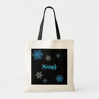 名前入りな雪片袋 トートバッグ