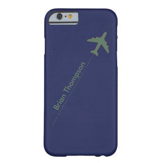 名前入りな飛行士 BARELY THERE iPhone 6 ケース