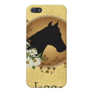 名前入りな馬のシルエット iPhone 5 COVER