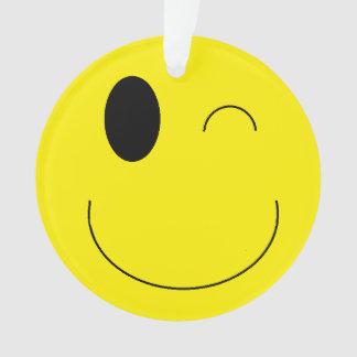 """名前入りな""""Emoji""""のクリスマスのオーナメント オーナメント"""
