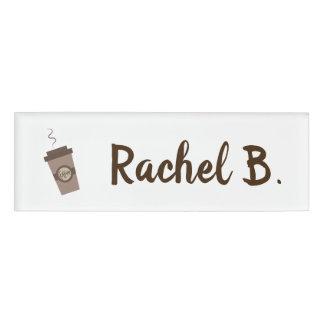 名前入りなBaristaのカフェの喫茶店 名札