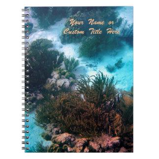 名前入りなBonairean礁 ノートブック