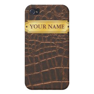名前入りなcrocのiphoneの場合 iPhone 4/4S カバー